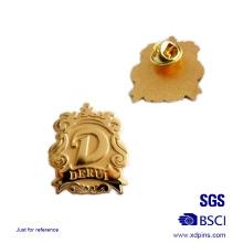 Promotion Gold Plating Custom Metal Lapel Pin Badge
