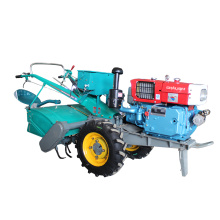 Farm Two Wheel Walking Tractor With Plough