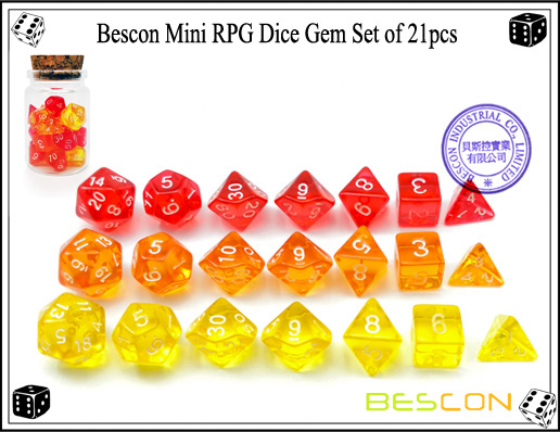 Mini Gem Set 21pcs-3