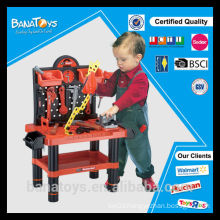 Hot sale plastic toy for kids bricolage tool toy