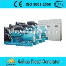 500kw doosan parallel generator set