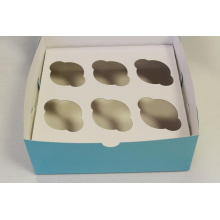 Cup Cake Box/Foldable Cake Box with Insert