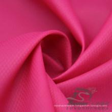 Water & Wind-Resistant Outdoor Sportswear Down Jacket Woven Phantom Plaid & DOT Jacquard 100% Nylon Fabric (N027)