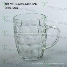 580 ml de coupe de verre à ananas