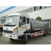 ¡Venta caliente !! Camión de leche de JieFang 4x2, camión cisterna de la leche