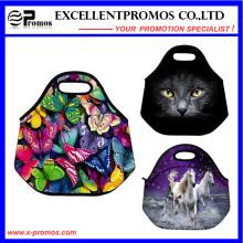 Personalizado impressão de alta qualidade saco de almoço de neoprene (EP-NL1604)
