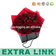 Cut Fashion Packaging Custom Paper Boxes For Flowers
