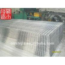 Treillis métallique soudé non galvanisé et treillis métallique soudé galvanisé 2x2 et treillis soudé renforcé 6x6
