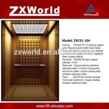 ZXC01-104 Luxuoso elevador de passageiros / Elevador