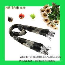 Las bufandas de seda más nuevas con estilo de la arruga