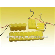batería recargable para el paquete de batería externa de luz de emergencia 5v / 9v / 12v