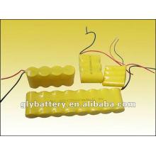bateria recarregável para luz de emergência bateria externa 5v / 9v / 12v