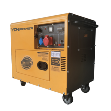 Immediate delivery with AVR 4kw portable silent diesel generator
