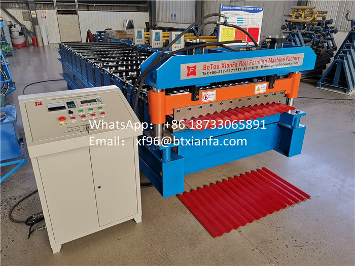 Metal Wall Forming Machine