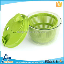 Mini salad spinner used for Lettuce washer , dryer, keeper, mixer