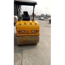 Venda rolo-compactador de direção hidráulica de 3 toneladas