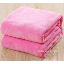 Jeté de couverture pour bébé enfant en laine polaire (B14108-9)