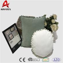 Горячая распродажа мода пом изготовленная на заказ квадратная круглая стул подушка