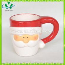 YScc0028-1 China Promocionais atacado cerâmica Santa Claus Cup