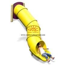 Outdoor Plastic Tube Slide For Amusement Park
