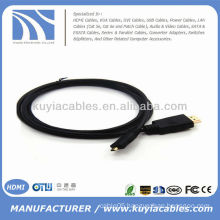 6 Ft Micro HDMI to HDMI 1.4 Adapter Cable for HTC EVO 4G XT800 Droid X Motorola