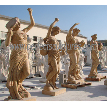 Carving Sculpture Marble Stone Statue for Garden Decoration (SY-X1317)