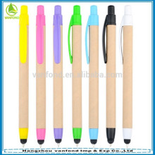 ECO friendly chinese promotional items retractable stylus pens for touch screens