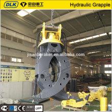 High quality Excavator Hydraulic Grapple Grab Wood Bucket