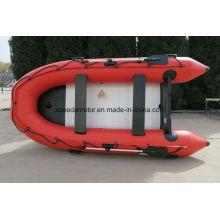 Barco de pesca de PVC inflável