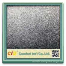 Los nuevos diseños de la manera venden al por mayor el cuero artificial del pvc para el sofá para la decoración fabrica cuero