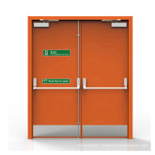 High Quality Durable Using Various White Fire Shutter Check Door