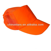 Casquette de sécurité orange haute visibilité pour poussière