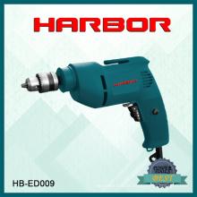 Hb-ED009 Harbour 2016 venda quente furadeiras elétricas mini broca de mão elétrica