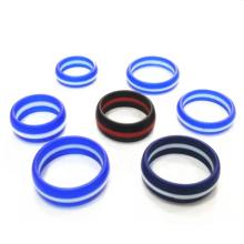Пользовательские модные силиконовые кольца для мужчин и женщин