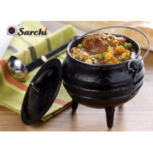 Outdoor South African Cast-Iron Potjie