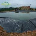 Black woven pond liner