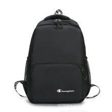 Wholesale high quality black mini students custom fashion pu leather beautiful girl backpack