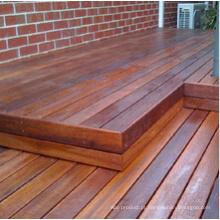 Revestimento de madeira do corredor do parque de Merbau para exterior