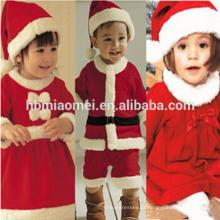 2017 em estoque item venda quente vermelho e verde natal família conjunto de roupas