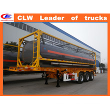 Clw Tri-Axle Oil Tank Trailer 42000liters Fuel Tank Semi Trailer