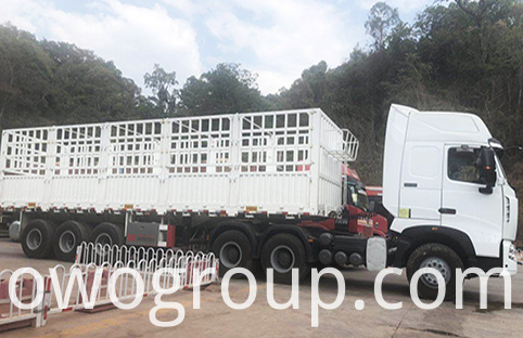 stake fence semi trailer