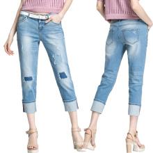 Lady's 2016 Fashion Leisure Skinny Jeans Pantalon
