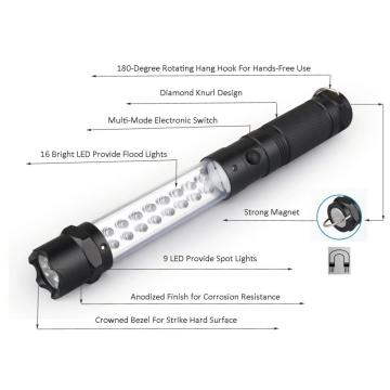 Crowned Bezel LED Portable Work Lights