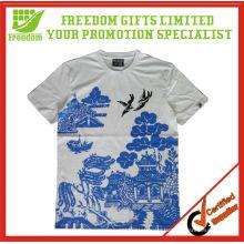 High Quality 100% Cotton Full Print T-shirt