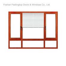 Порошок покрыл алюминиевые окна для коммерчески здания (фут-W80)