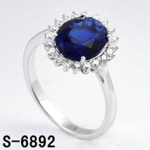 Anillo de plata esterlina de la joyería 925 de la manera de la alta calidad