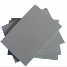 Folha rígida de PVC de plástico branco