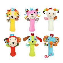 Baby Infant Cartoon Animal Handbell Rattles Toys