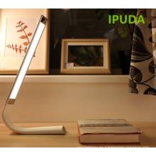 IPUDA luces con batería de interior plegable plegable lámpara de mesa led / dormitorio luz de lectura de cabecera con sensor táctil USB