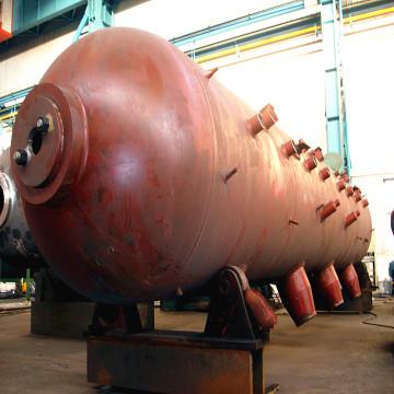 Boiler Pressure Parts Steam Drum With Safety Valve